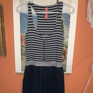 Eight Sixty one piece striped balloon dress